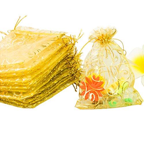 Yellow Silk Organza - 2