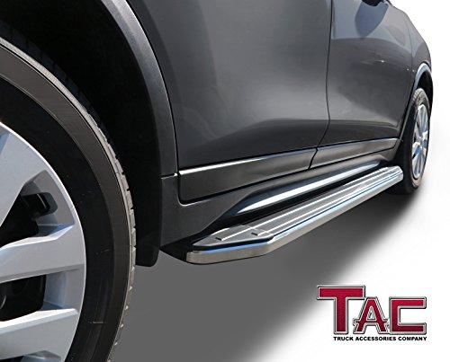 TAC Running Boards Fit 2011-2019 Ford Explorer SUV Aluminum Black Side Steps Nerf Bars Step ...