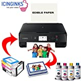 Best Edible Printers - Edible Printer Bundle Double Ink Combo, Includes 2 Review