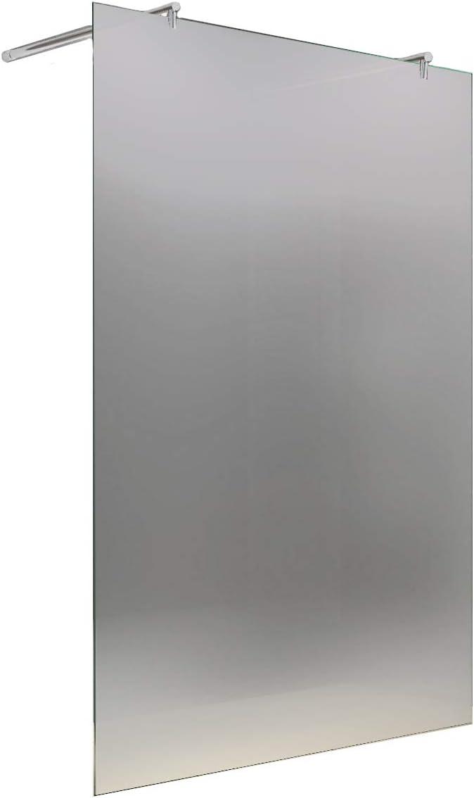 Mampara de ducha entrada por la esquina 90 x 195 cm ISABELLA/8 mm/con ducha + desagüe: Amazon.es: Bricolaje y herramientas