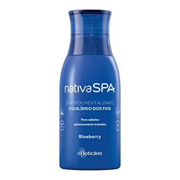 Amazon.com : Linha Nativa Spa Boticario - Shampoo Revitalizante Equilibrio dos Fios Blueberry 400 Ml - (Boticario Nativa Spa Collection - Hair Balance ...