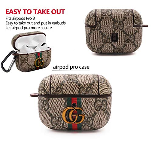 Designer Luxury Cute Case for Airpods Pro 3 Come with Keychain Compatible with Airpod Cover 3th from E-LOYCSQ