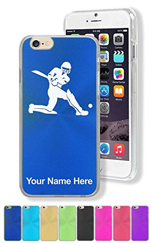 Case for iPhone 6/6s - Cricket Player - Personalized Engraving Included by SkunkWerkz