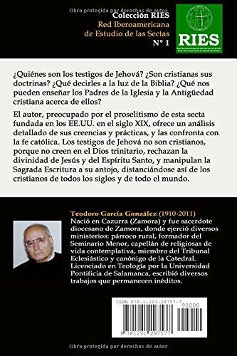 Los testigos de jehová. Una guía para católicos (Spanish Edition): Teodoro García González: 9781291297577: Amazon.com: Books