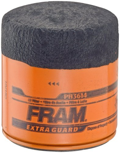 2019 Volkswagen Jetta Oil - Fram PH3614 Extra Guard Passenger Car Spin-On Oil Filter (Pack of 2)