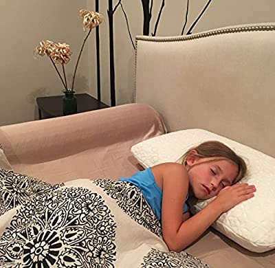 Toddler Memory Foam Bed Bumper by Delana - Organic Cool Gel - 100% Memory Foam Safety Guard for Bed - Removable Hypoallergenic Cover - Machine Wash