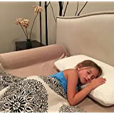 Toddler Memory Foam Bed Bumper by Delana - Organic Cool...