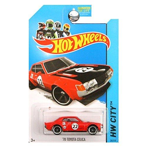 2014 Hot Wheels '70 Toyota Celica 24/250 Hw City Night Burnerz