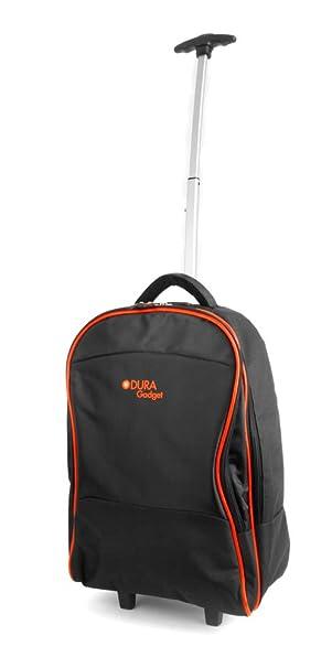 574bf492c408 DURAGADGET Lightweight Laptop Trolley Bag With Heavy Duty Telescopic Handle  for Schenker M503, B503, W503