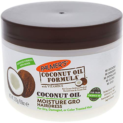- Palmer's Coconut Oil Formula With Vitamin E Moisture Gro Hairdress, 8.8 Ounces