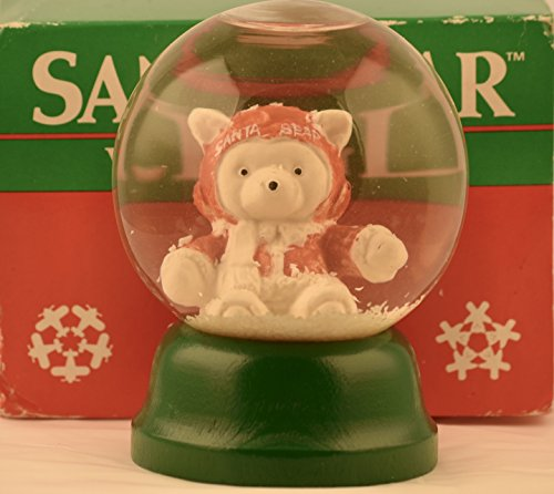 1987 Dayton Hudson / Marshall Field's - SantaBear Water Globe - Dept 56 - Very Rare