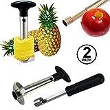 Pineapple Corer and Apple Corer - Pineapple Corer Slicer Peeler Stainless Steel