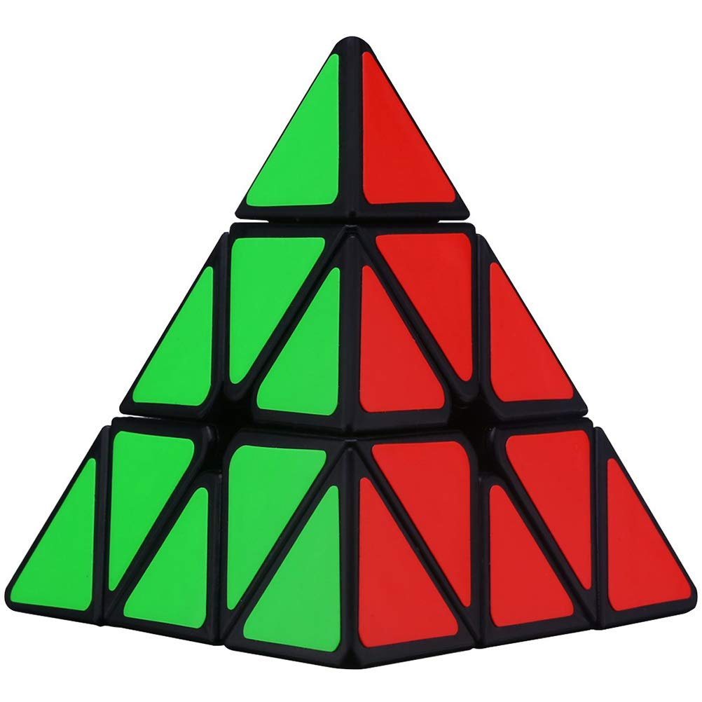 Daxoon Zauberw/ürfel Pyramide Dreieck Intelligenz Spielzeug f/ür Puzzle Cube Enthusiasten