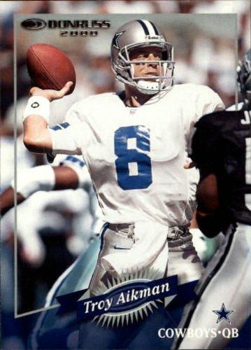 2000 Donruss Football Card #42 Troy Aikman