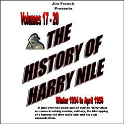 The History of Harry Nile, Box Set 5, Vol. 17-20, Winter 1954 to April 1956