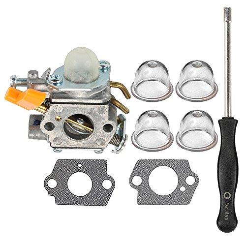 HIPA 308054034 308054014 Carburetor with Adjustment Tool for Ryobi RY09053 RY09055 RY09056 RY08554 RY09907 Leaf Blower Vacuum by HIPA