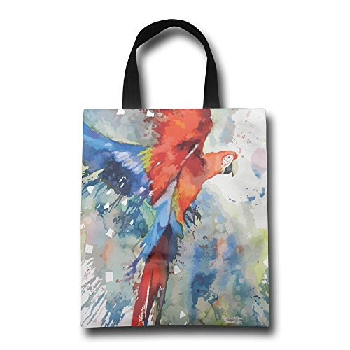 - QQWDAR Heavy Duty Waxed Canvas Work Apron The Parrot Painting Adjustable for Men and Women �Pro Barber,Barista,Bartender,Hair Stylist,Server Apron