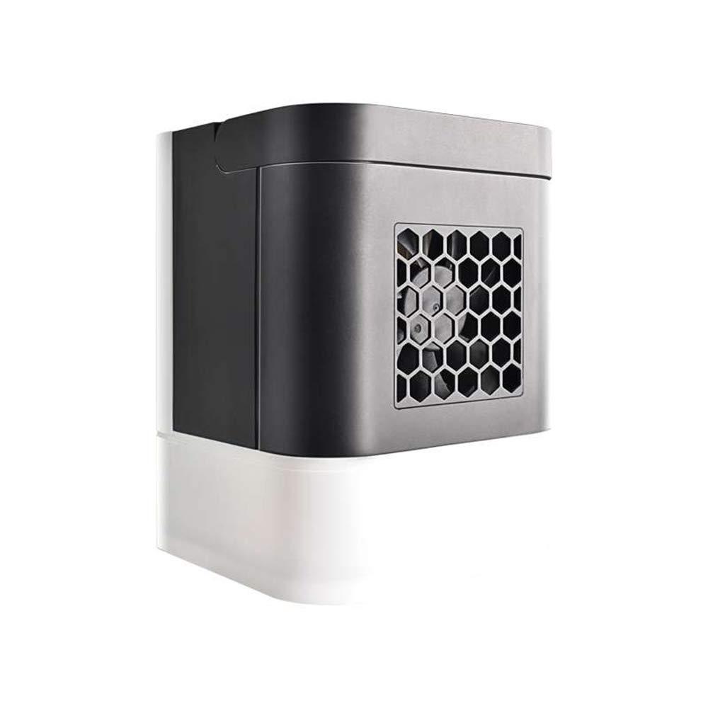 李愛 扇風機 ミニ小型エアコンエアコン学生用ドミトリー冷却ファン水冷加湿用アニオン   B07GF2SLJL