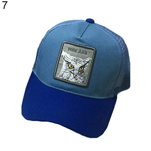 a0764eefe5879 ink2055 Animal Embroidered Mesh Baseball Cap Hat Snapback Men Women Ladies  Outdoor Hip Hop Sun Hat