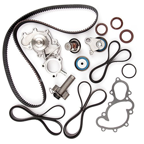 Timing Belt Water Pump Kit , ECCPP for 1995 - 2004 Toyota Tacoma Tundra 4Runner T100 3.4L V6 DOHC 24 Valve Engine 5VZFE