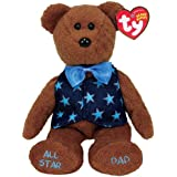 TY~ALL STAR DAD THE BEANIE BEAR by Beanie Babies