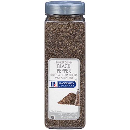(McCormick Pepper, Black Shaker Grind, 1 LB )