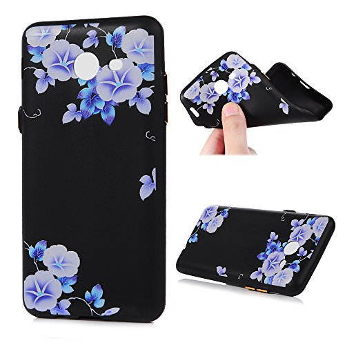 Galaxy J7 V J7V Case, Shock Resistant Flexible Soft TPU Bumper Back Shell Kawaii Colorful Painting Dropproof Ultra-Thin Slim Lightweight Rubber Silicone Skin Cover for Samsung Galaxy J7 Morning Glory