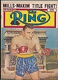 The RING April 1950 Boxing Magazine - Robert