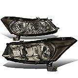 2008 accord sedan headlights - Honda Accord 8th Gen Sedan Pair of OE Style Smoke Lens Clear Corner Headlight