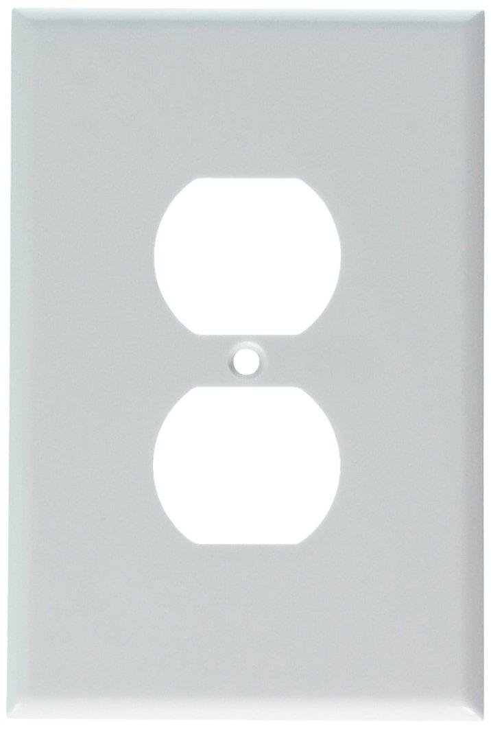プラスチック製 オーバーサイズ コンセント ウォールプレート Pack 100 コンセント Pack 88103 ホワイト B00L74K490 5-Pack|ホワイト ホワイト 5-Pack, ディスカウント みやこ:aa0166c9 --- gamenavi.club