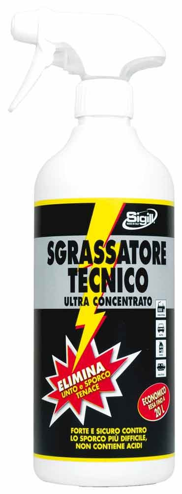 SIGILL 05050 Sgrassatore Tecnico Ultra Concentrato, 750 ml Pigal