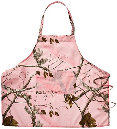 Realtree-Camouflaged-Apron-Pink