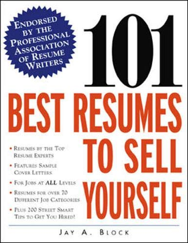 Image for 101 Best Resumes to Sell Yourself