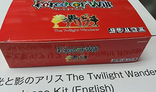 1 (One) Pre-Release Box - Force Of Will TCG The Twilight Wanderer Booster Box + Mephistopheles, the Abyssal Tyrant Full Art Promo ()