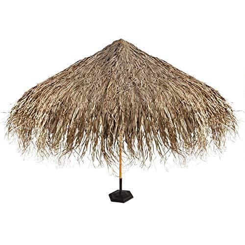 Design Toscano Tropical Thatch Umbrella Cover