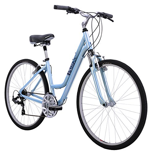 Diamondback Bicycles Women's 2015 Vital 2 Complete Hybrid Bike, 17-Inch/Medium, Blue Top Price