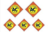 5 Triagle Allis Chalmers Decals - Scale Model Decals, Dioramas and More