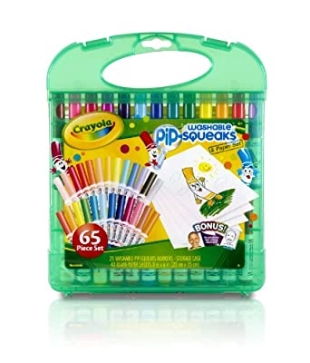 Crayola 25 Count Washable Pip-squeaks Kit from Crayola