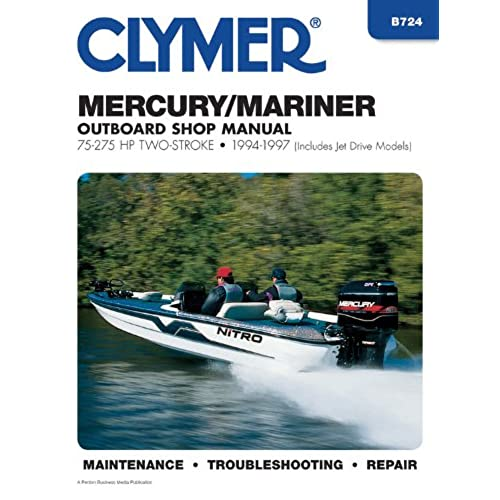 mercury outboard manual amazon com rh amazon com 1995 Geo Tracker Manual Icon Tracker Manual