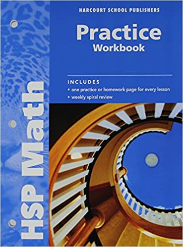 Math practice workbook grade 6 harcourt school publishers math practice workbook grade 6 1st edition fandeluxe Images