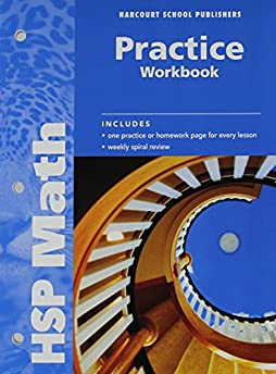 math worksheet : math practice workbook grade 6 harcourt school publishers  : Harcourt Math Worksheets Grade 1
