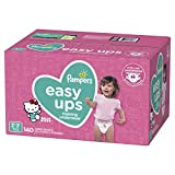 : Pampers Easy Ups Training Underwear Girls Size 4 2T-3T 140 Count