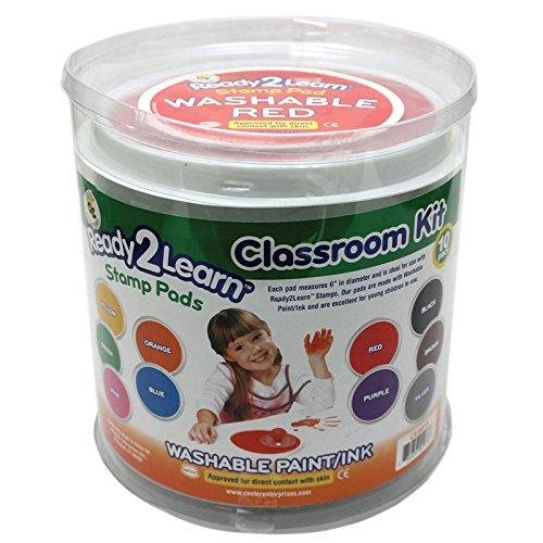 Jumbo Circular Washable Pads Classroom KIT