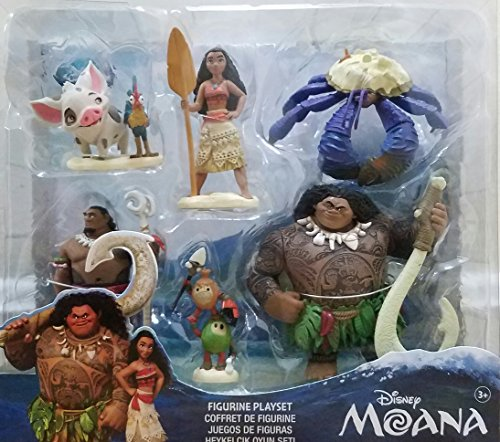 Disney Collection Moana Figurine Playset Buy Online In