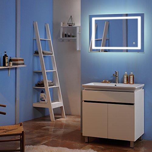 LED Bathroom Mirror,Amailtom 28