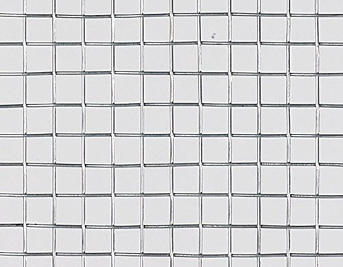 【北海道発送不可】 亜鉛引平織 金網 線径 #19(0.9mm) × 3.2 メッシュ 幅 910 mm × 長さ(巻き) 30 m 吉田隆【代不】 B01EL4WML0