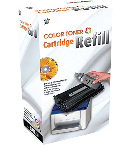 Uni Kit Magenta Toner Refill (Universal Brand: Uni-Kit Toner Refill Kit for HP 3600 / HP 3800)
