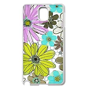 Vintage Flower ZLB543764 Customized Case for Samsung Galaxy Note 3 N9000, Samsung Galaxy Note 3 N9000 Case