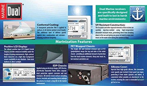 Dual Electronics 1DIN MRN CD AM/FM RCVR/BT MCD237BT by Dual Electronics (Image #5)