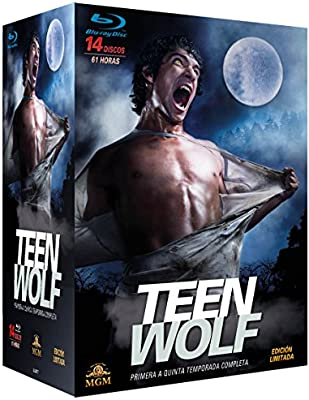 Pack Teen Wolf - Primera a Quinta Temporada Completa Blu-ray ...